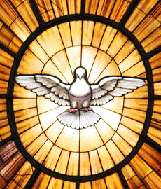 Holy Spirit Dove Figure St. Peter\'s Bascilica