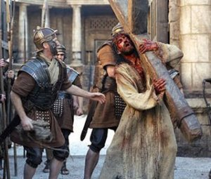 And they led Him out to be crucified...