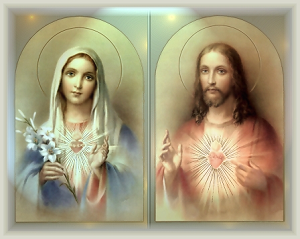 Immaculate Heart of Mary, pray for Us. Sacred Heart of Jesus, have mercy on us.