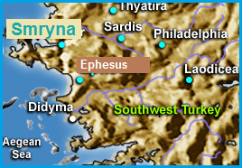 Not far from Ephesus...