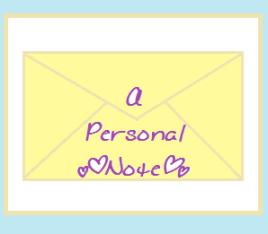 PersonalNote