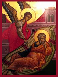 The Angel of the Lord came to Joseph in a dream...
