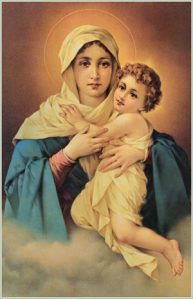 Mary, Mother of God, pray for us!