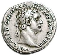 The Roman Denarius coin...